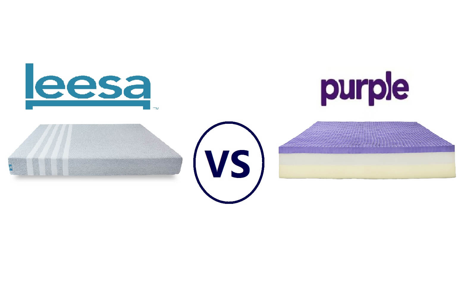 Leesa vs. Purple Mattress Review