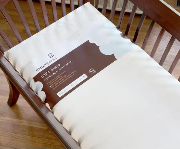 Naturepedic No Compromise Ultra Seamless Crib Mattress