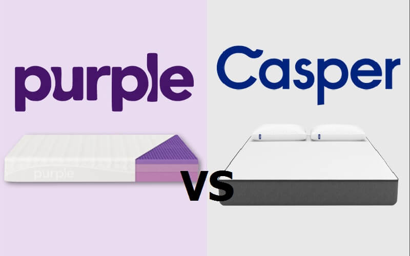 Purple vs. Casper Mattress Review