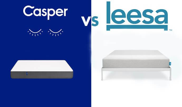 leesa vs casper mattress