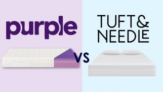 Purple vs. Tuft and Needle Mattress