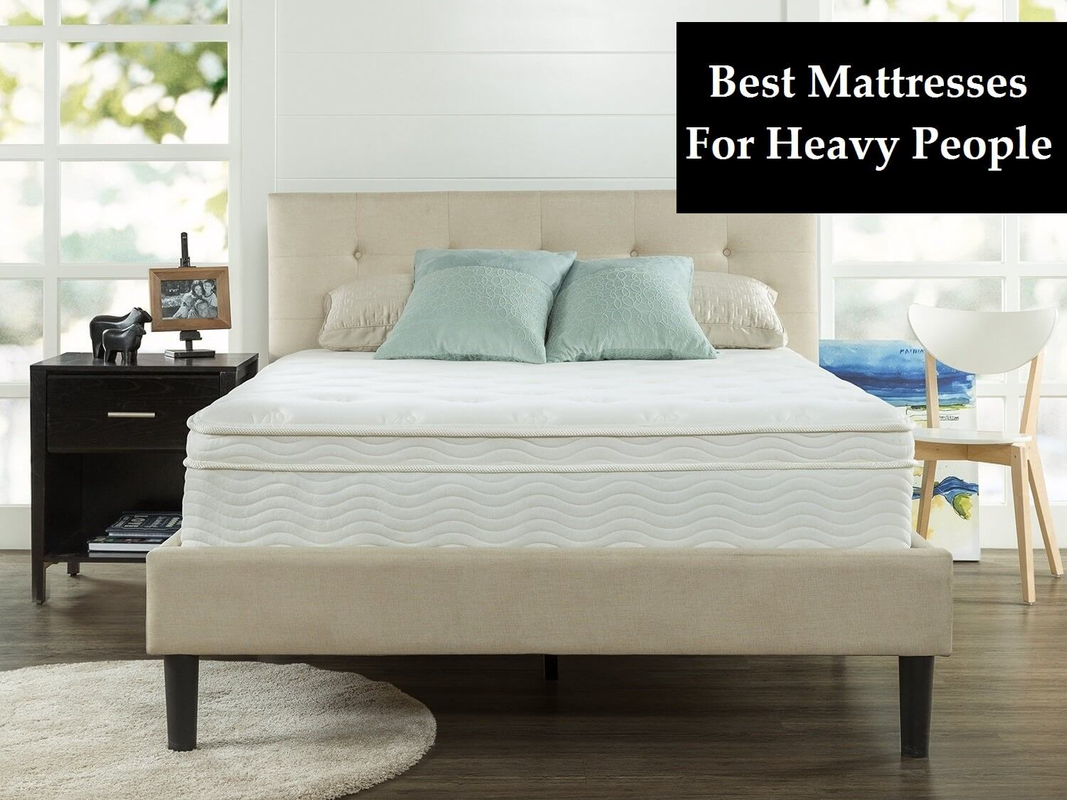 Ratings On Mattresses >> Top 7 Best Mattresses For Heavy People Buying Guide Ratings