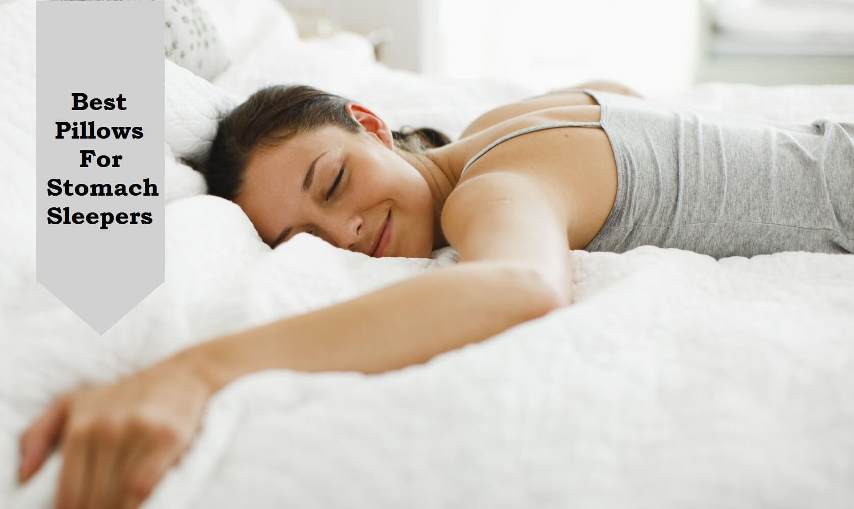 8 Best Pillows For Stomach Sleepers recommend