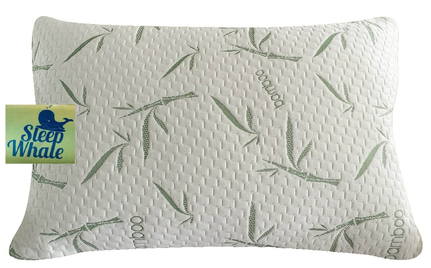 Premium Shredded Memory Foam Pillow by Sleep Whale
