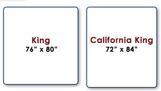 King and California King Sizes