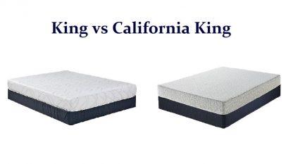King vs California King Mattress Size