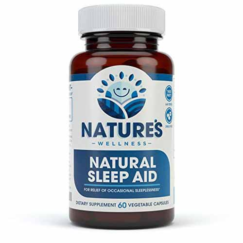 Natural Sleep Aid by Nature's Wellness