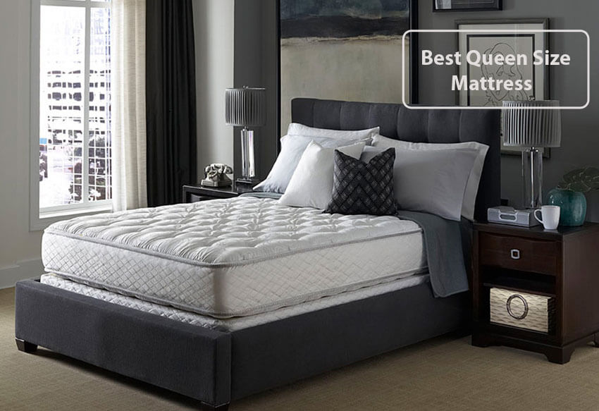 top 7 best queen size mattresses in 2017 2018 under 1000 500 300 and 200. Black Bedroom Furniture Sets. Home Design Ideas