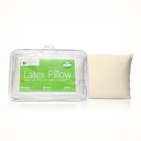 Organic Textiles All-Natural Premium Latex Pillow