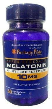 Puritan's Pride Super Strength Rapid Release Capsules (10 mg)