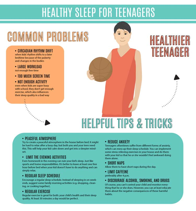 Healthy Sleep for Teenagers