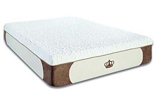 DynastyMattress Cool Breeze Memory Foam Mattress