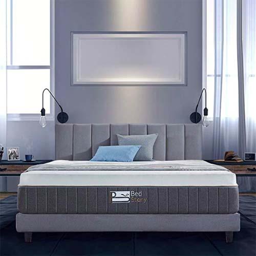 BedStory Gel Memory Foam Mattress