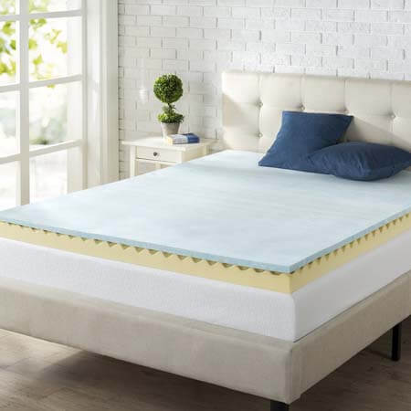 5 Best Egg Crate Mattress Toppers For Therapeutic Sleep In