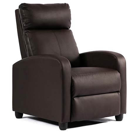 FDW Single Reclining Sofa Chair