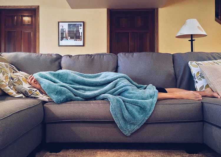 Is Sleeping on the Couch Good for Your Health