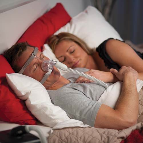 Types of CPAP Masks Compatible with Facial Hair