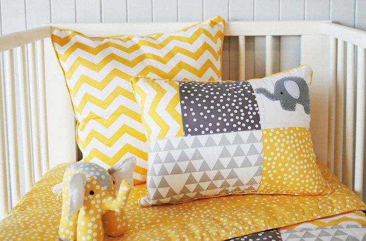 Colorful Crib Pillows